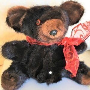Other - Plush MINK TEDDY BEAR